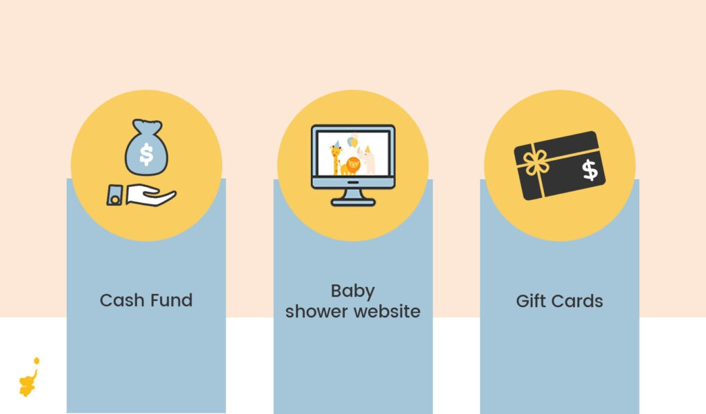 webbabyshower other options for baby shower money gifts infographics