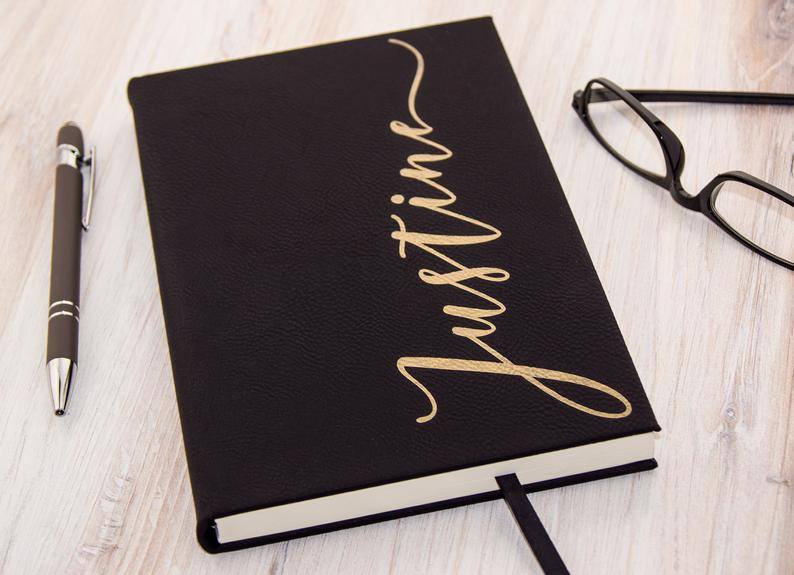 Personalized Journal Notebook