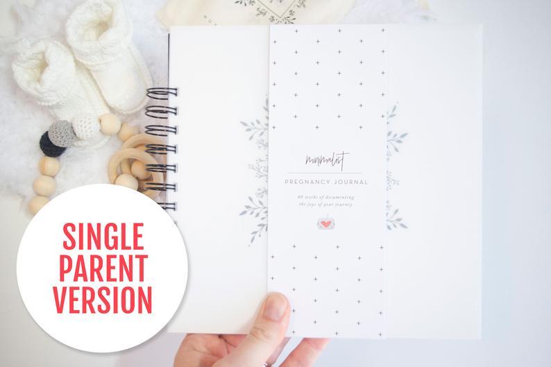 Single Parent Pregnancy Journal