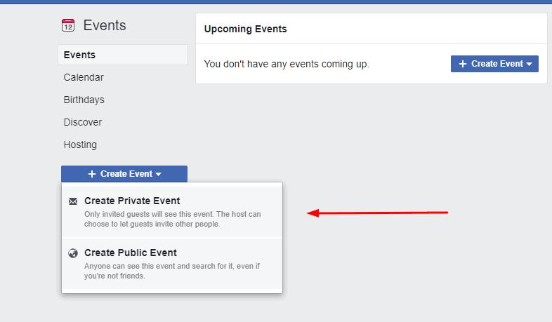 fbevent private   Facebook Baby Shower   WebBabyShower