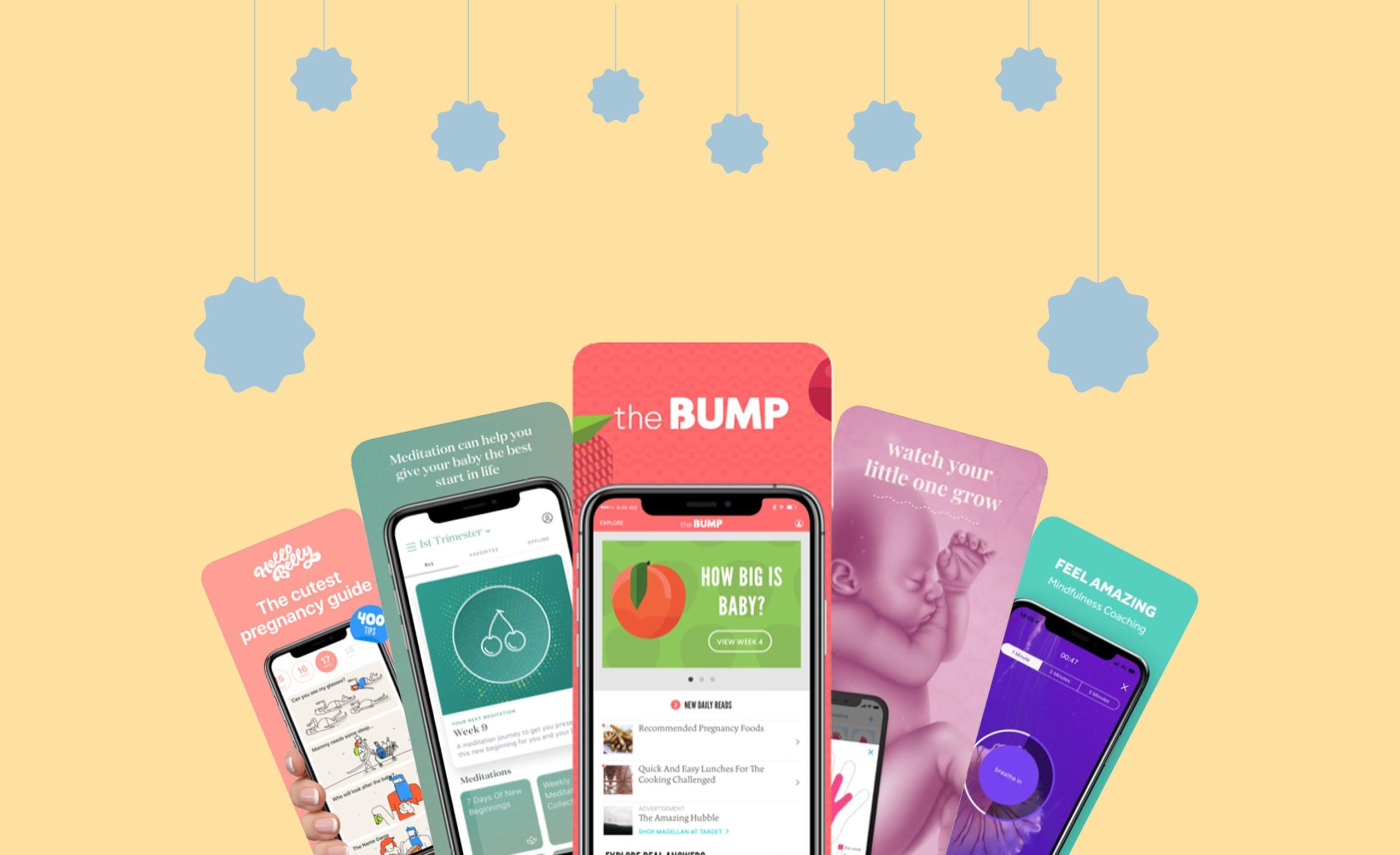 WebBabyShower prenancy app header
