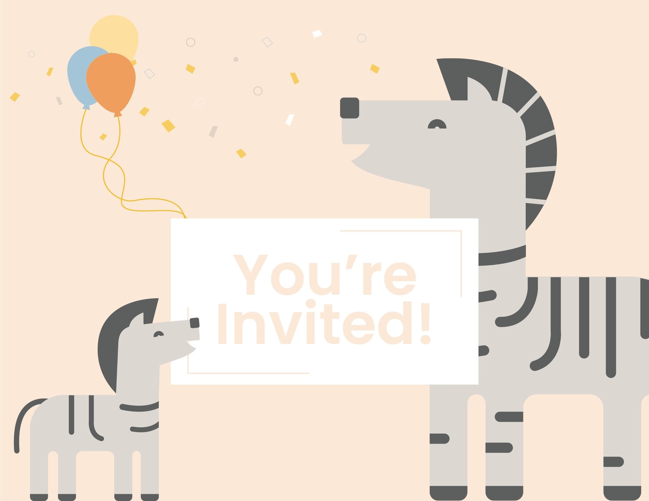 WebBabyShower zebra you are invited