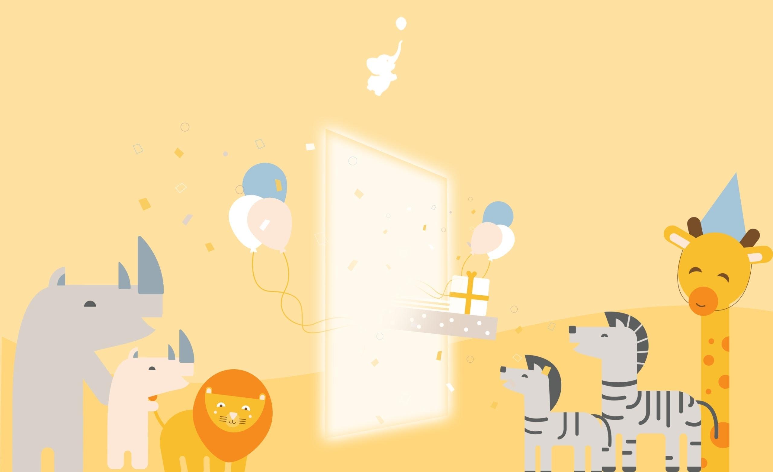 Zoom Virtual Background For Baby Shower Webbabyshower