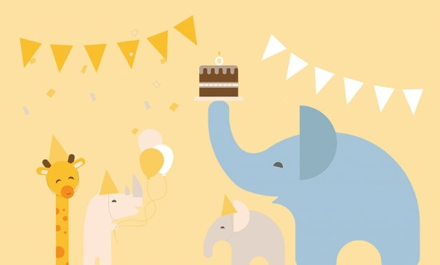 rivate online baby shower party