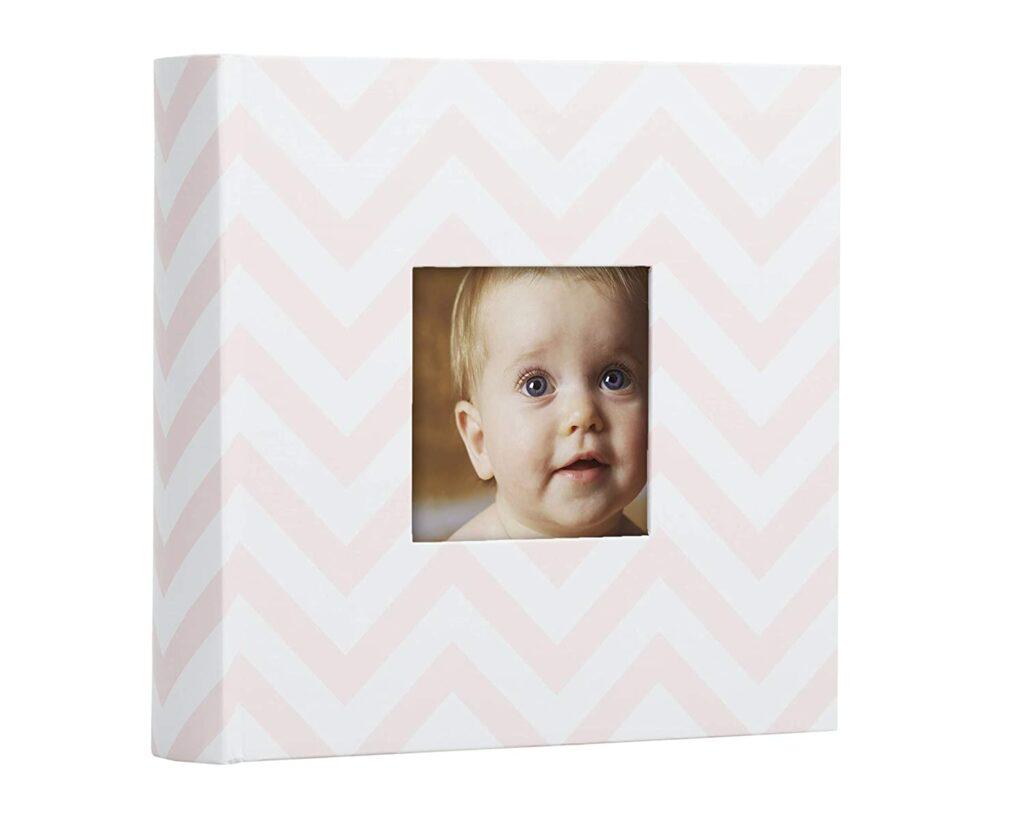 Pearhead Chevron Baby Photo Album