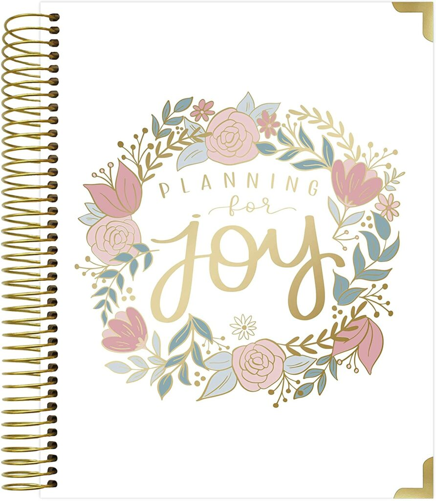 Bloom Daily Planners, New Pregnancy and Baby's First Year Calendar Planner & Keepsake Journal