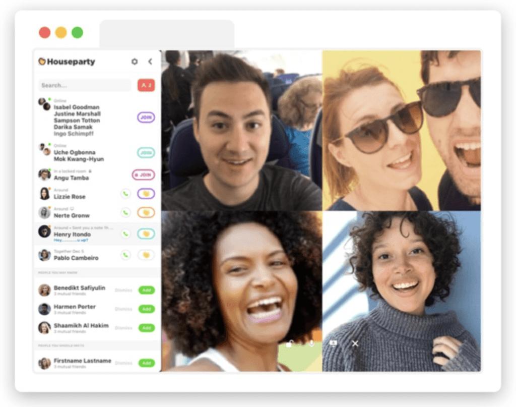 houseparty video chat platform webbabyshower review | Skype baby shower | WebBabyShower