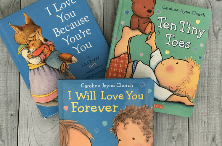 ideas for baby shower books