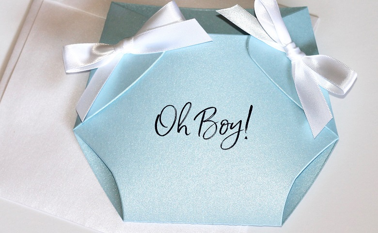 invitation with gender reveal