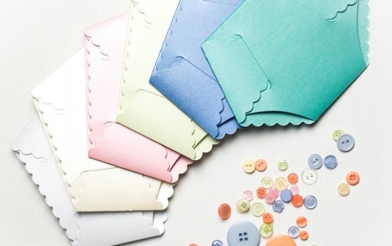 different colors invitations