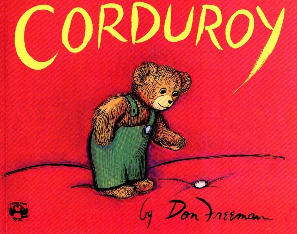 webbabyshower corduroy book