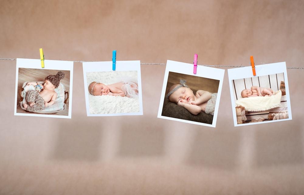 webbabyshower photos of newborn babies sleeping
