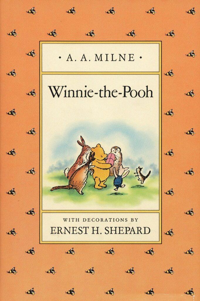 webbabyshower winnie the pooh book