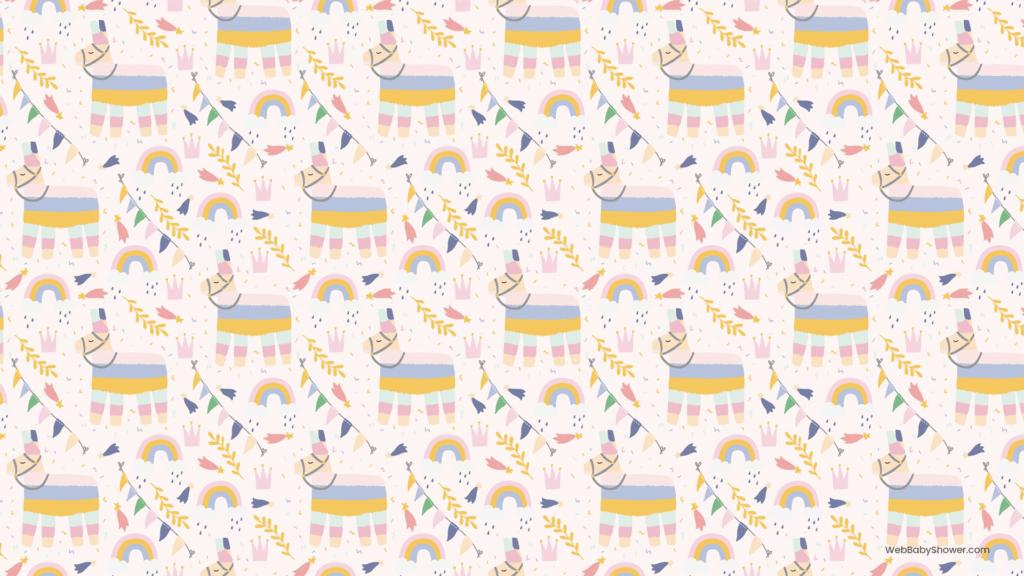 webbabyshower party llama baby shower backgrounds