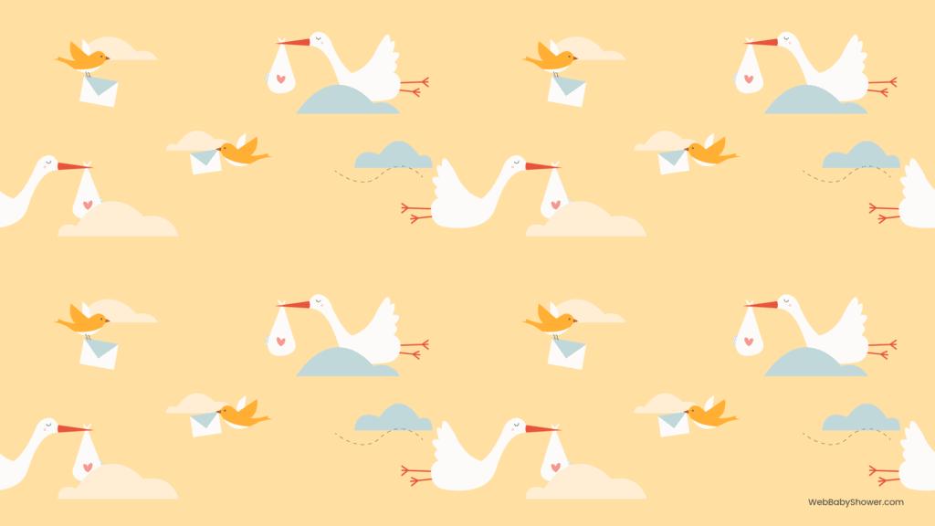 webbabyshower storks baby shower backgrounds