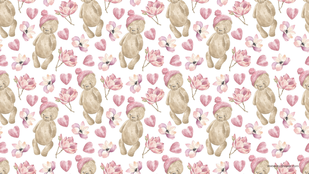 webbabyshower teddy bear baby shower backgrounds