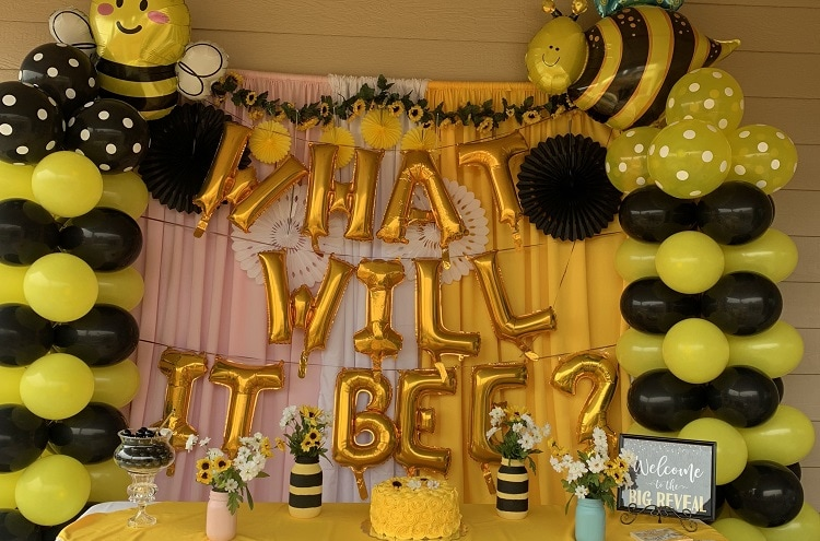 beehive theme for gender reveal party