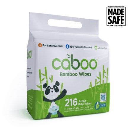 webbabyshower bamboo wipes from caboo
