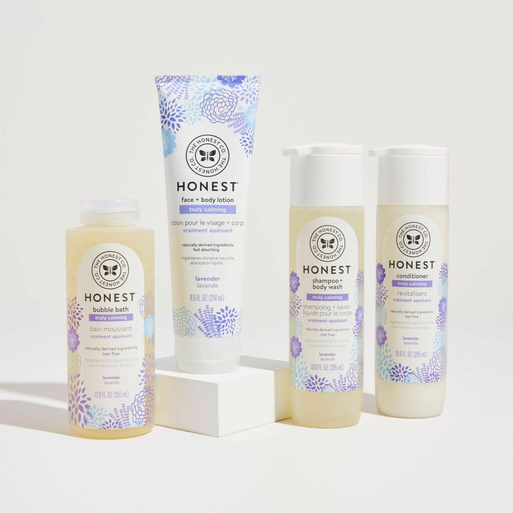 webbabyshower baby bath set from the honesty company