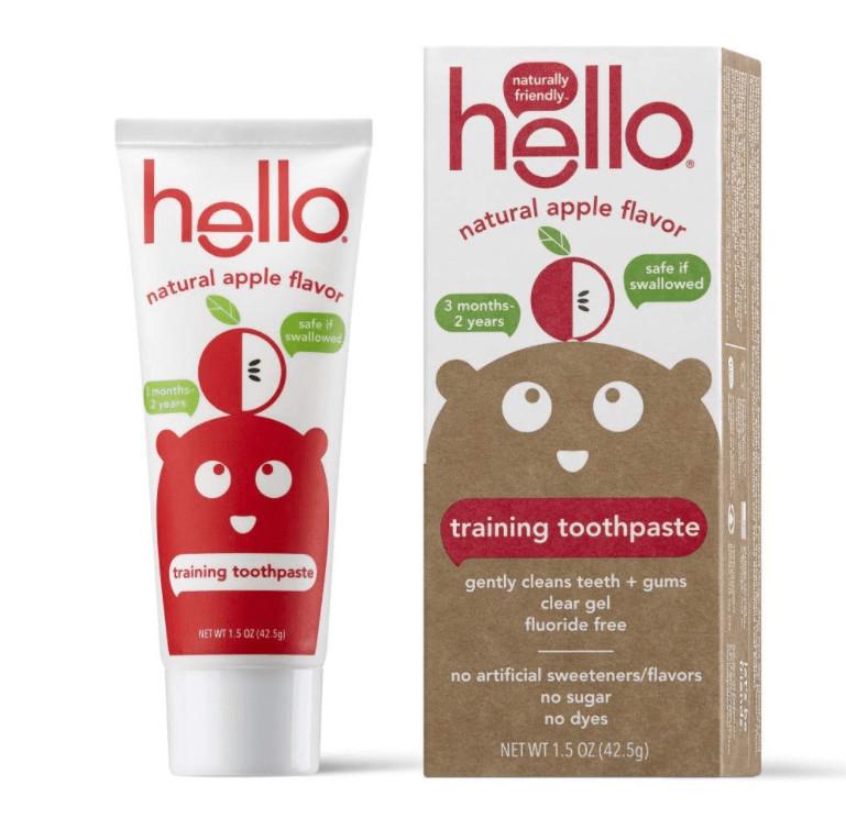 webbabyshower training toothpaste from hello