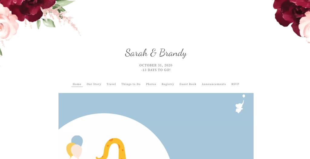 wbs theknot baby shower website | WebBabyShower