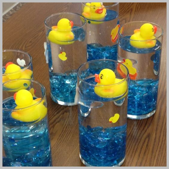 mothers day baby shower floating ducks