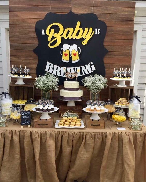 baby shower themes brewing