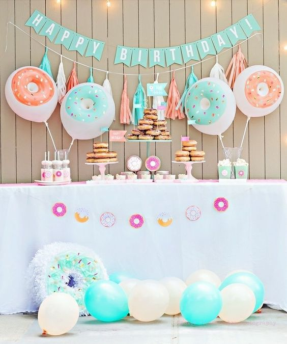 baby shower themes donut