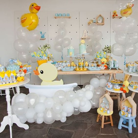 baby shower themes duck