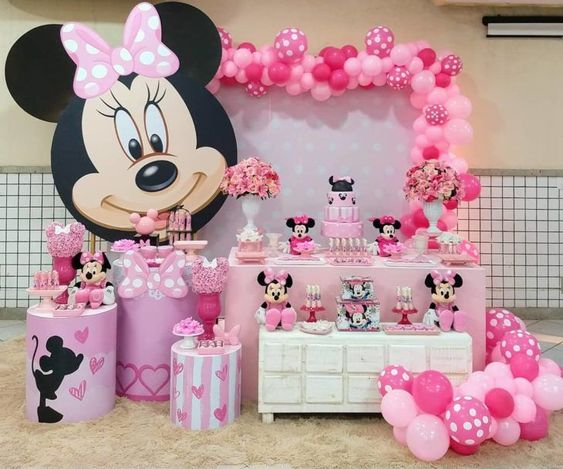 baby shower themes minnie mouse
