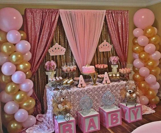 baby shower themes princess