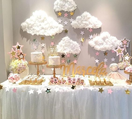 baby shower themes cloud