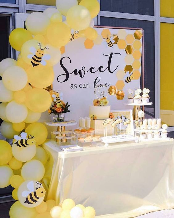 baby shower themes bee