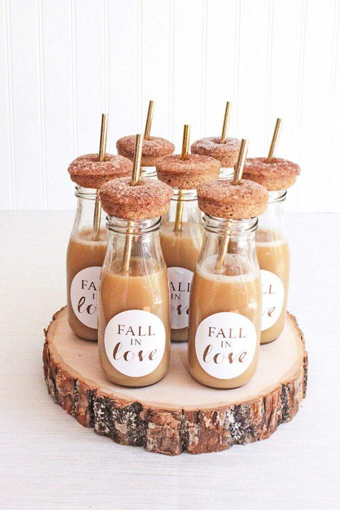 fall baby shower dessert