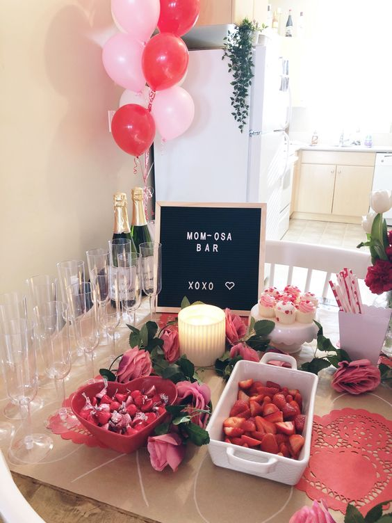 valentines day baby shower letter board