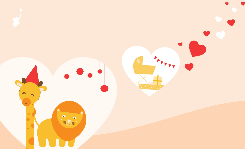 webbabyshower header image valentines baby shower