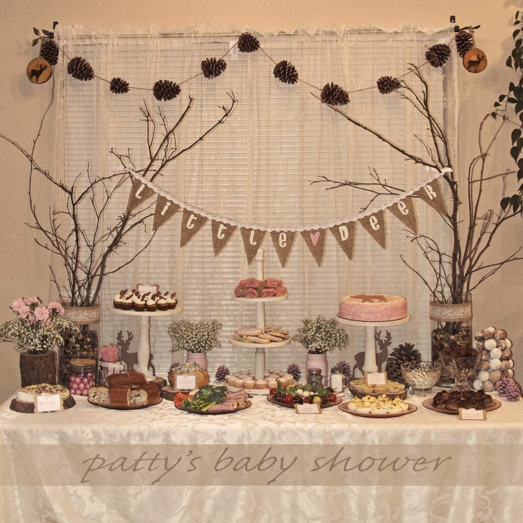 fall baby shower theme