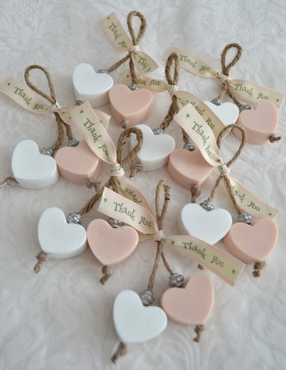 valentines day baby shower heart giveaways