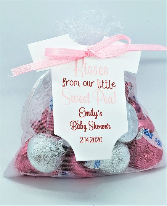 valentines day baby shower kisses chocolate