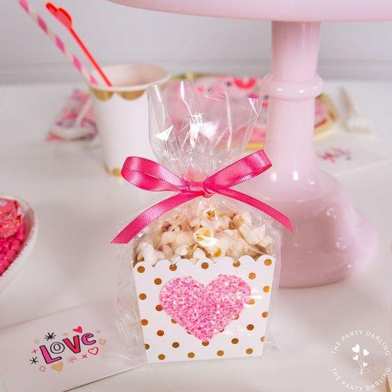 valentines day baby shower pop corn