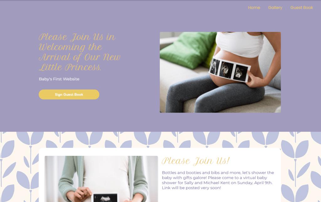 wbs homepage screengrab v2 lilac | WebBabyShower