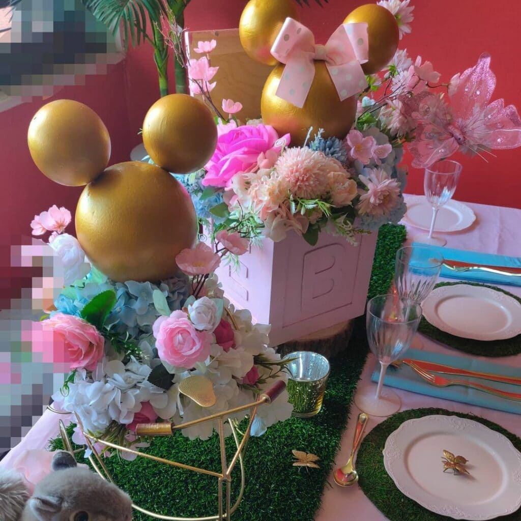 webbabyshower mickey and minnie mouse theme