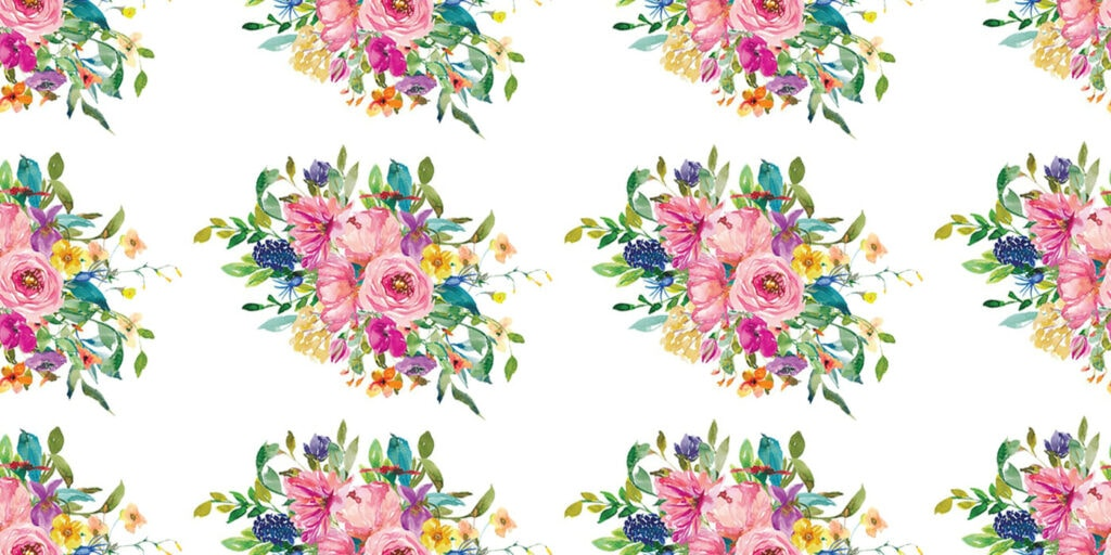 wbs 25 classic bouquet floral background 1400 | WebBabyShower