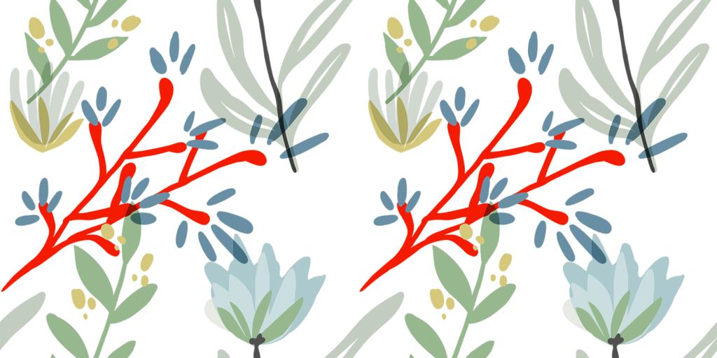 wbs 37 modern botanical redsea background 1400   WebBabyShower