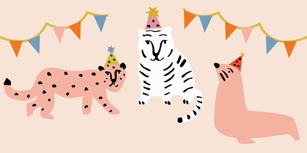 wbs 41 party animals pink background 1400   WebBabyShower