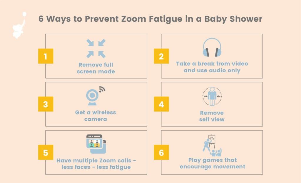 WBS infgraphic 6 ways to prevent zoom fatigue 2   WebBabyShower