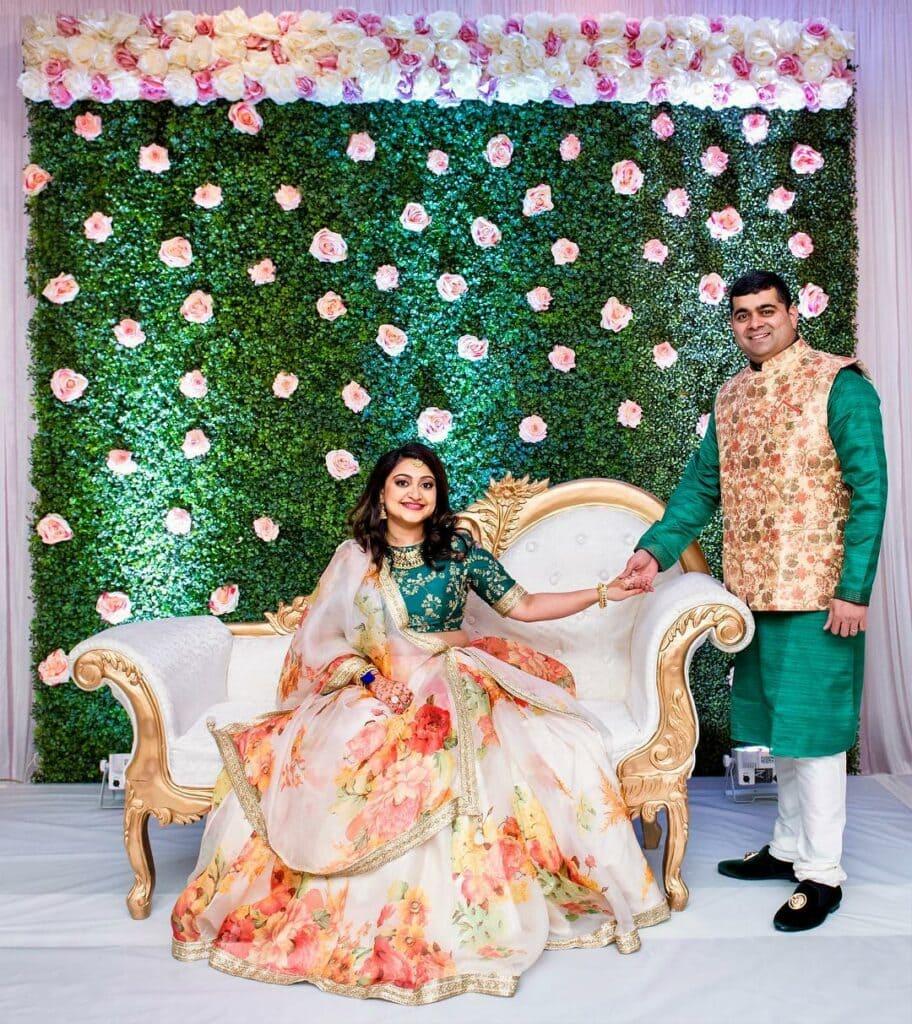 godh bharai baby shower parents-to-be