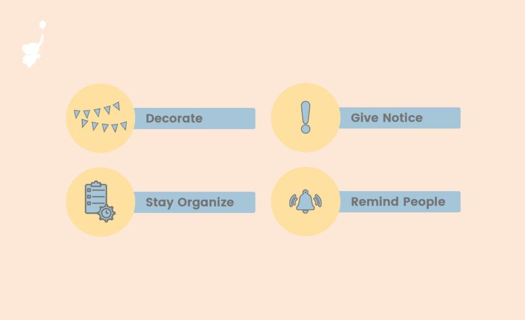 webbabyshower infographics tips to host work baby shower