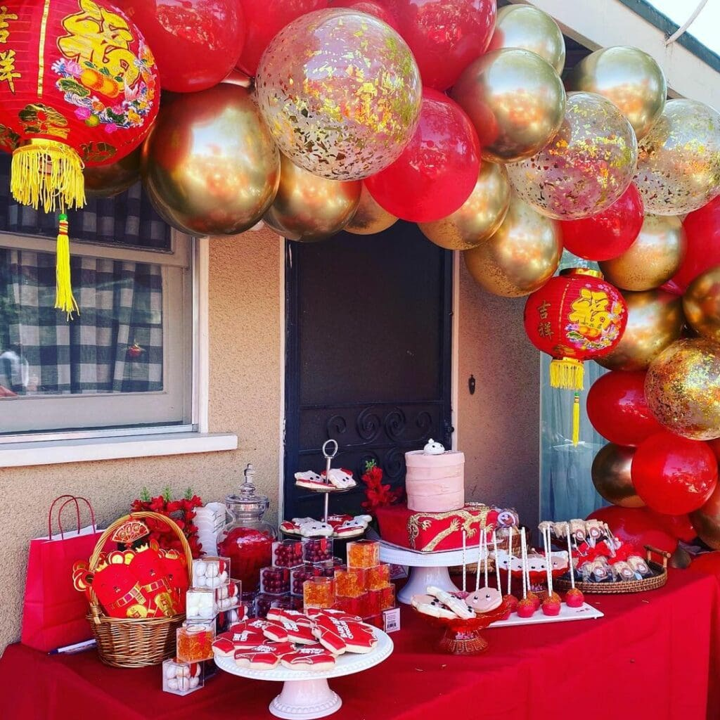 baby shower traditions chinese