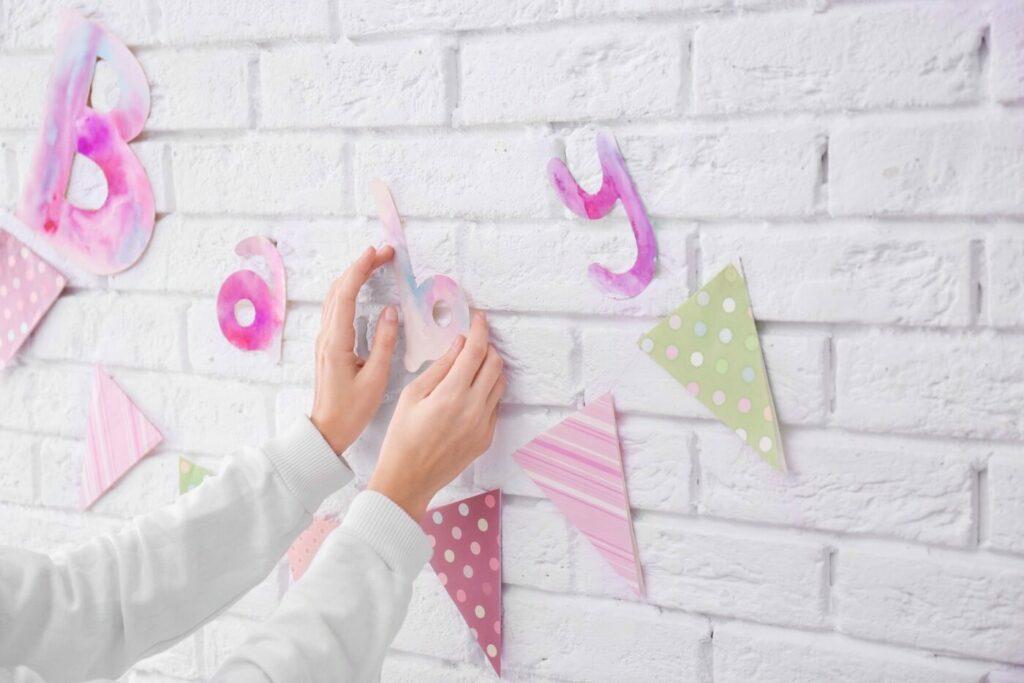 webbabyshower bunting decor | WebBabyShower